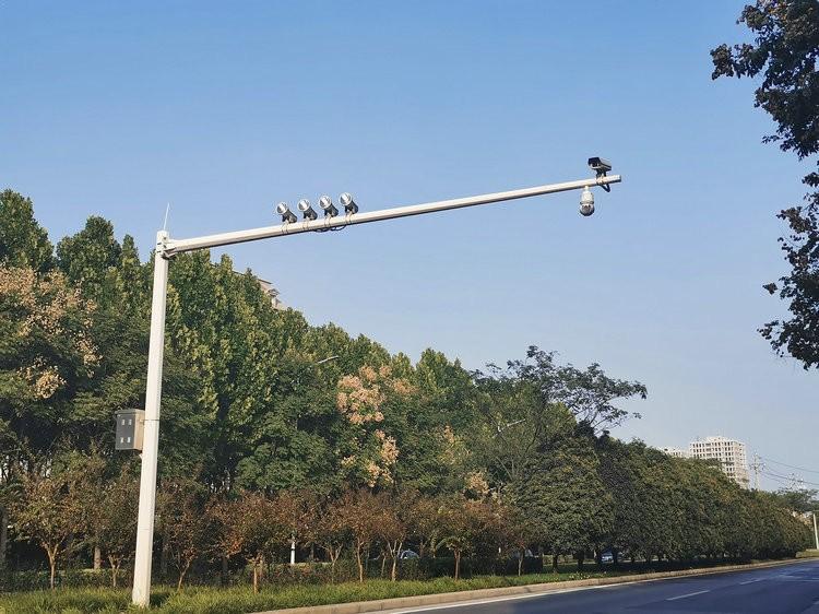 北京电子警察杆